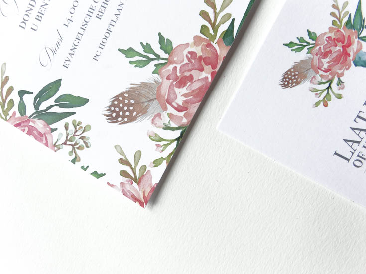 May and Fay blog- weddinginvitation with watercolor flowers 7 (1 van 1)